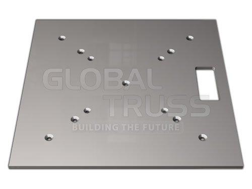 Global Truss 20 x 20 Aluminum Base Plate Base Plate 20x20A