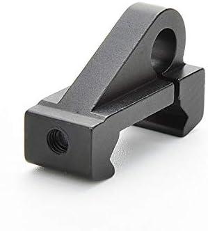 Tactical Airsoft Sling Swivel 20mm Picatinny Weaver Rail Adaptador de Pistola Airsoft Swivel Attachment Scope Mount Base l/áser for Rifle Color : Negro XFC-Swivels