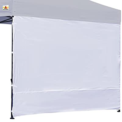 ABCCANOPY 15+Colors 10' Sun Wall for 10'x 10' Straight Leg pop up Canopy, 10' Sidewall kit (1 Panel) with Truss Straps from ABCCANOPY