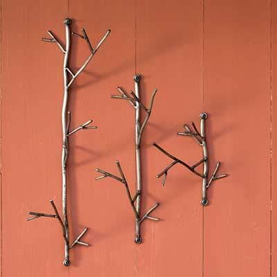 BestNest Ancient Graffiti Twigs Wall Hanger Package