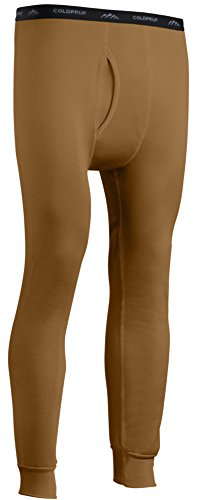 ColdPruf Mens Expedition Base Layer Pant, Coyote Brown, X-Large
