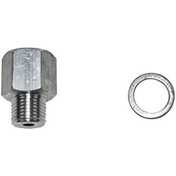A-Team Performance Oil Pressure Sensor LS Engine Swap Male M16-1 5 Adapter  Female 1/4 NPT Fittings Compatible with LS1 LSX LS3 LQ4 LQ9 551175