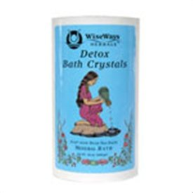 Detox Bath Crystals - WiseWays Herbals Detox Bath Crystals -- 16 oz