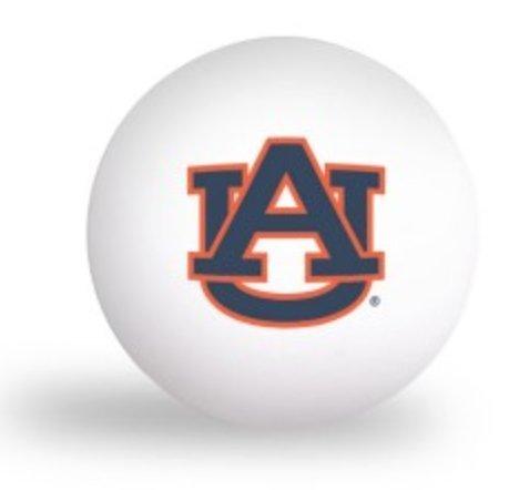 NCAA Auburn University Tigers 6 pack Ping Pong Balls