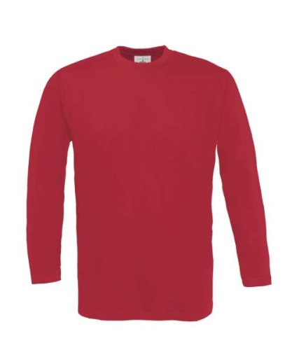 Langarm T-Shirt 'Exact 190' XL,Deep Red