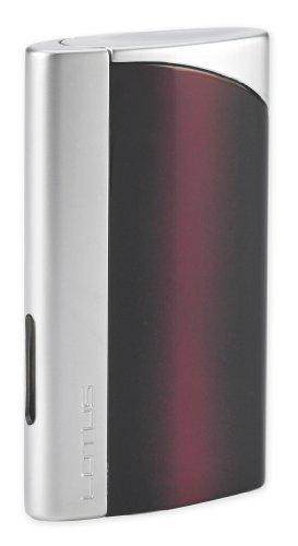 Lotus Lighter - Discretion L43 Black Cherry & Chrome Velour