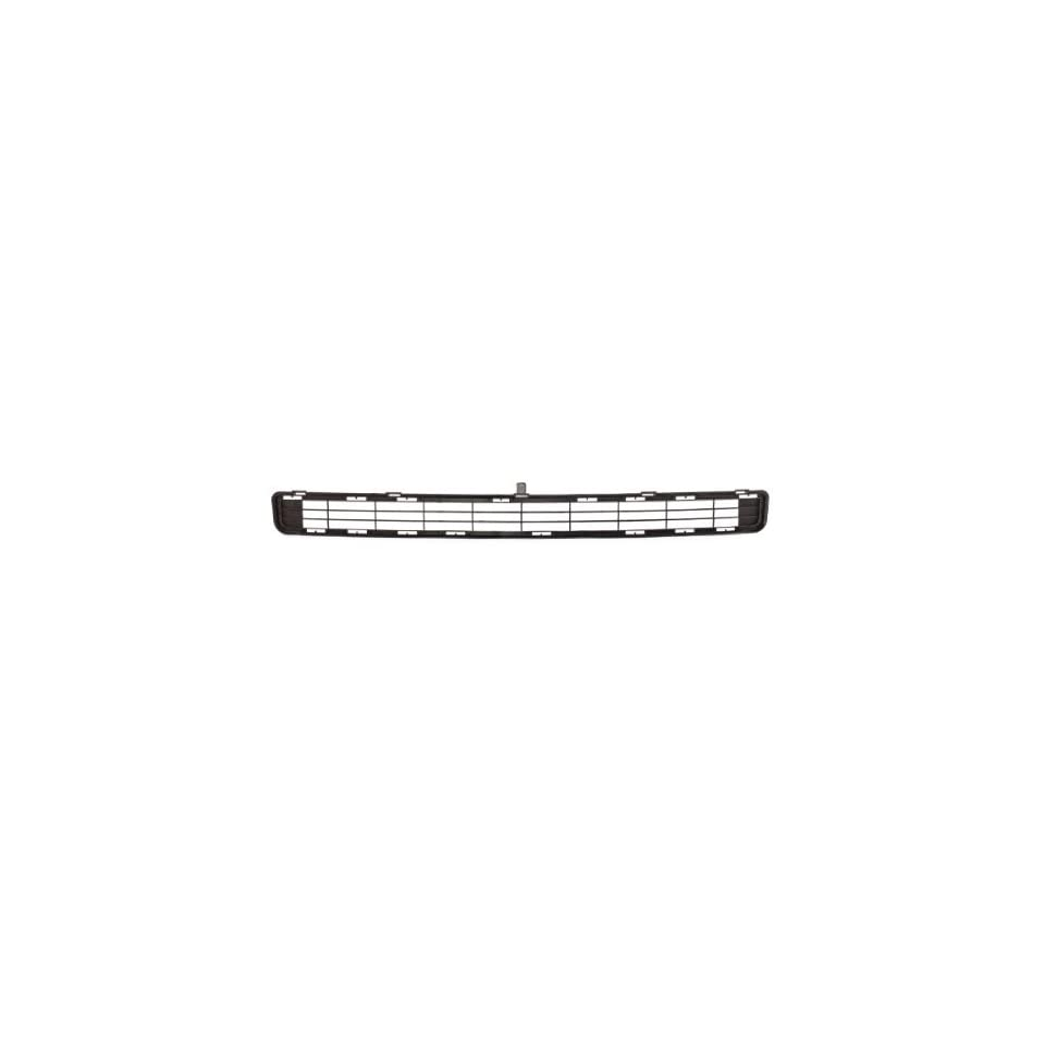 CarPartsDepot, Black Plastic Front Bumper Upper Grille Assembly Grill Insert Replacement, 363 442080 10 TO1036114 531120R010