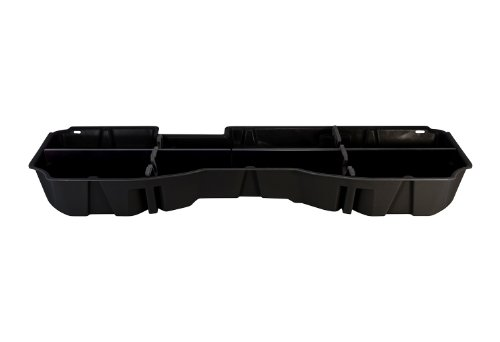 DU-HA Under Seat Storage Fits 14-17 Chevrolet/GMC Silverado/Sierra Light Duty & Heavy Duty Crew Cab, Black, Part #10300