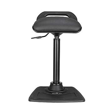 Tremendous Varidesk Adjustable Standing Desk Chair Varichair Black Download Free Architecture Designs Embacsunscenecom