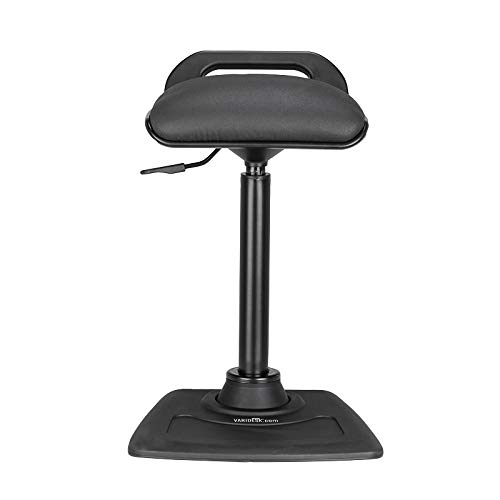 (VARIDESK - Adjustable Standing Desk Chair - VARIChair - Black)