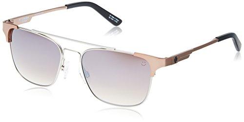 Spy Optic Unisex Westport Matte Silver/Matte Rose Gold/Happy Bronze Fade/Silver Mirror One Size ()