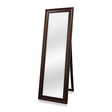 Functional and Decorative 20-inch X 60-inch Floor Mirror with Easel in Golden Bronze Finish (Bronze Floor Mirror)