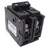 Eaton / Cutler Hammer QBHW2040 Quicklag Miniature Circuit Breaker 40 Amp, 120/240 Volt AC, 2-Pole, Bolt-On Mount,