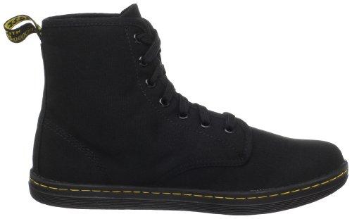 Femme Noir Dr Chaussures Martens Shoreditch Montantes wgxfIxqXp