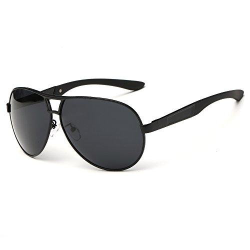 SRANDER Wayfarer Metal Frame Sunglasses Eyewear Polarized UV400 Driving Glasses - 1950s Bans Ray