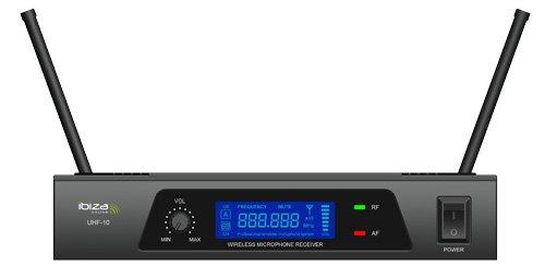 Sistema de micr/ófono Ibiza UHF10B