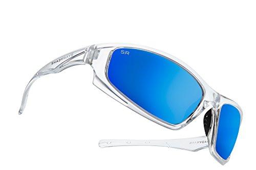 Shady Rays Polarized Sport Sunglasses X Series, Ocean, ()