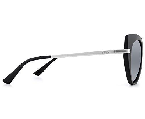 Opaco nero Guess Noir Specchiato Sonnenbrille gu7513 fumo nOOq4xTg7
