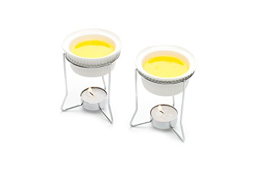 Nantucket Seafood 5590 Butter Warmers, Set of (2 Butter Warmers)
