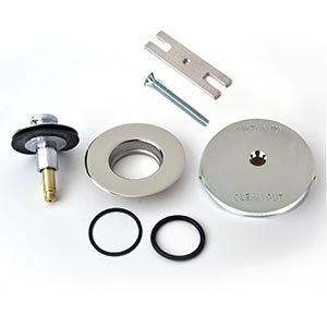 Watco's QuickTrim One-Hole Overflow Cover Kit Lift and Turn ()
