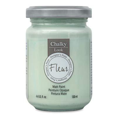 Fleur Chalky Look Paint - Nelson Blue, 4.4 oz ()