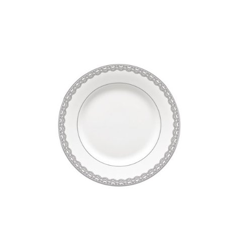 Lace Platinum Dinner - Lismore Lace Platinum Bread and Butter Plate