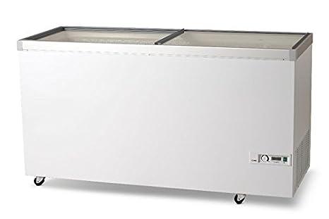 VESTFROST ikg505 tapa de cristal pecho congelador, 492 L: Amazon ...