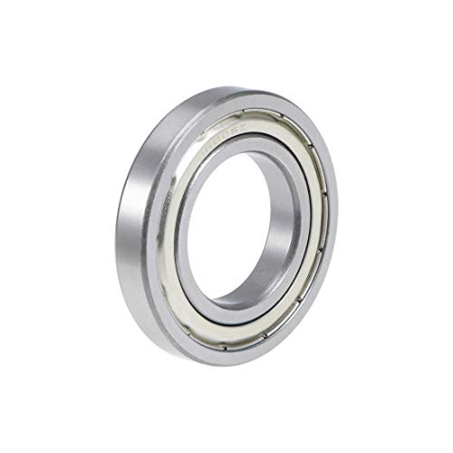 uxcell 16006ZZ Deep Groove Ball Bearing 30x55x9mm Double Shielded Chrome Steel Bearings 1-Pack
