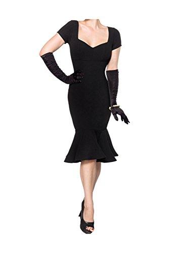 Damen Retro Belsira Belsira Schwarz Damen Kleid qT1PBE