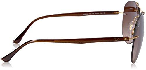 Ban 8058 Ray Noir Negro Sonnenbrille RB 4qdFfnxU8