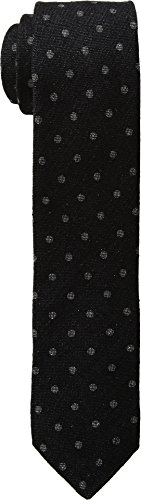 Ted Baker Neckties (Ted Baker Mens Black and Blue Rustic Black One Size)