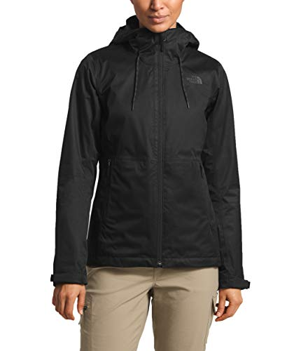 The North Face Women's Arrowwood Triclimate¿ Jacket TNF Black/TNF Black Large (North Face Jacket Women Hood)