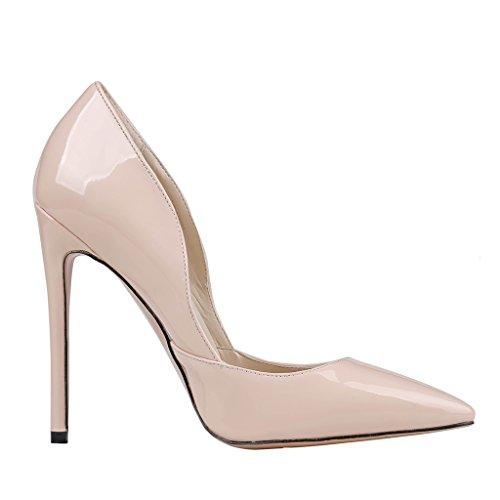 MERUMOTE - Zapatos de tacón fino Mujer - Nackt-Matte