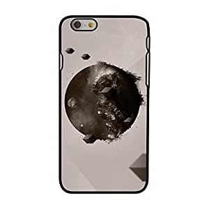 For iPhone 5s Case, Fashion Earth and Space Pattern Protective Hard Phone Cover Skin Case For iPhone 5s +Screen Protector