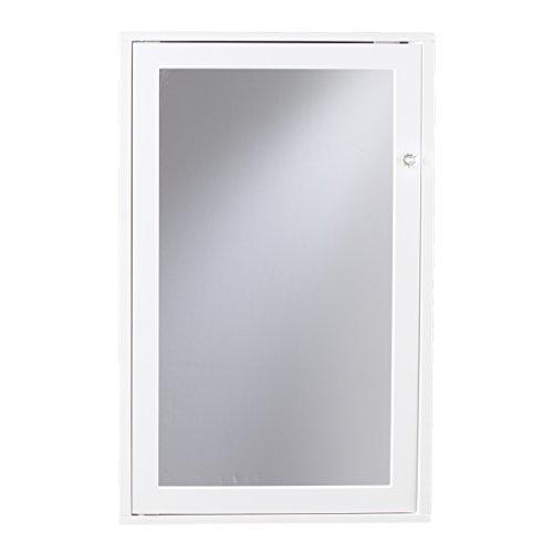 Furniture HotSpot - Corner Medicine Cabinet - White - 21.75