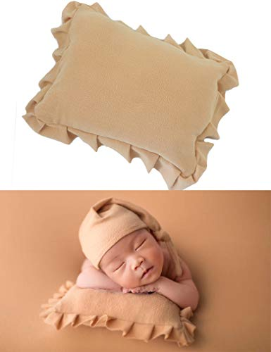 Newborn Photography Poser Pillow Props Soft Baby Posing Pillows Infant Photo Prop Basket Filler Girl Or Boy Accessories (Camel) ()