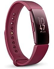 Fitbit Inspire Gezondheids- en fitnesstracker met automatische trainingsdetectie, 5 dagen batterijduur, slaap- en zwemtracking
