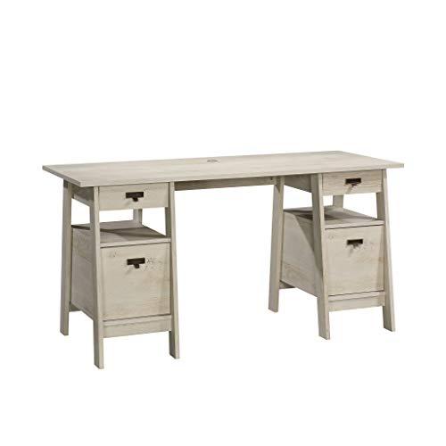 Sauder 424128 Trestle Executive Trestle Desk, L: 59.06