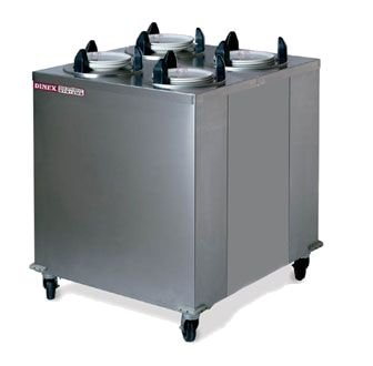 Enclosed Mobile Plate Dispenser - Dinex DXIDPH4E1012 10-1/8