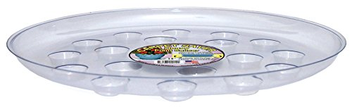 CWP DS-1400 Heavy Gauge Footed Carpet Saver Saucer, 14-Inch Diameter, - Carpet 14