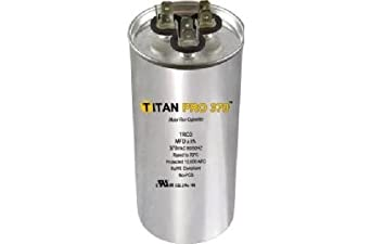 Packard trcd455 motor run capacitor oval mfd 45 5 for 370 volt 10 mfd motor run oval capacitor