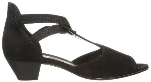 Gabor Shoes Gabor Comfort 86.561.47, Sandali Donna, Nero (Schwarz (schwarz)), 40