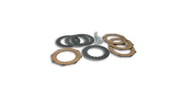 MALOSSI - 61078 : Kit discos embrague (8 muelles) VESPA COSA 2/PX 125>200E-PX 200E Malossi 5216515: Amazon.es: Coche y moto
