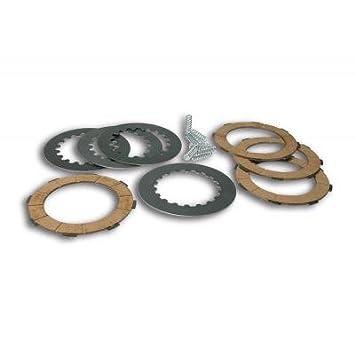 MALOSSI - 61078 : Kit discos embrague (8 muelles) VESPA COSA 2/PX 125>200E- PX 200E Malossi 5216515: Amazon.es: Coche y moto