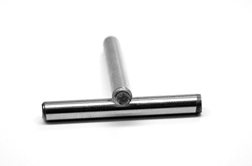 1/8'' x 3/8'' Dowel Pin Hardened And Ground Stainless Steel 416 Pk 100 by ASMC Industrial
