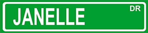 Janelle Green Aluminum Street Sign 4
