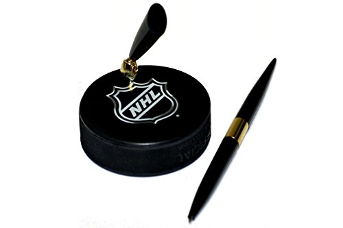 fan products of NHL Shield Logo Hockey Puck NHL Desk Pen Holder