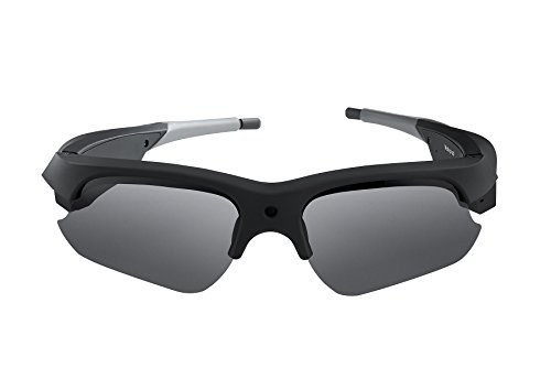 Spy Tec 1080P HD Camera Glasses Video Recording Sport Sunglasses DVR Eyewear 1080P @ 30fps 720P @ - Video Camera Sunglasses Spy