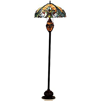 Chloe lighting ch18780va18 df3 liaison tiffany style victorian 3 chloe lighting ch18780va18 df3 liaison tiffany style victorian 3 light double lit floor aloadofball Gallery