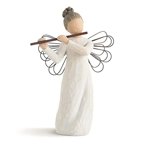 Willow Tree Angel of Harmony Hand Painted Sculpture Figure ()
